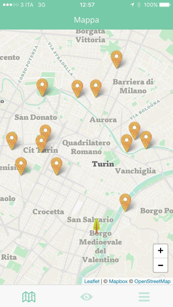 app iOs Android ToBee realtà aumentata geolocalizzazione botanica Libre Società Cooperativa