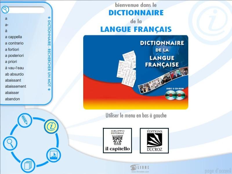 dizionario interattivo francese Capitello Libre Società Cooperativa
