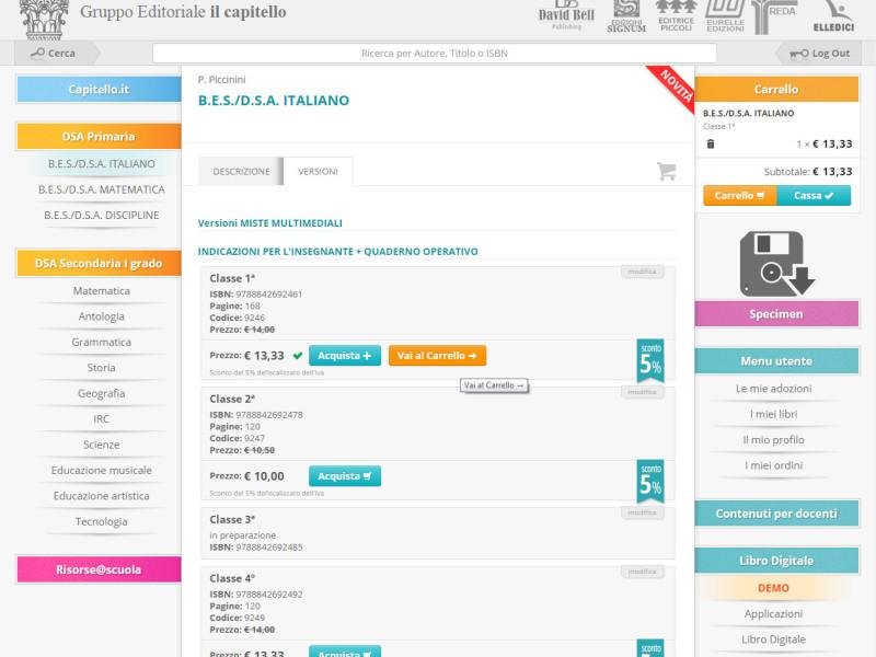 sito web Editore Capitello Libre Società Cooperativa