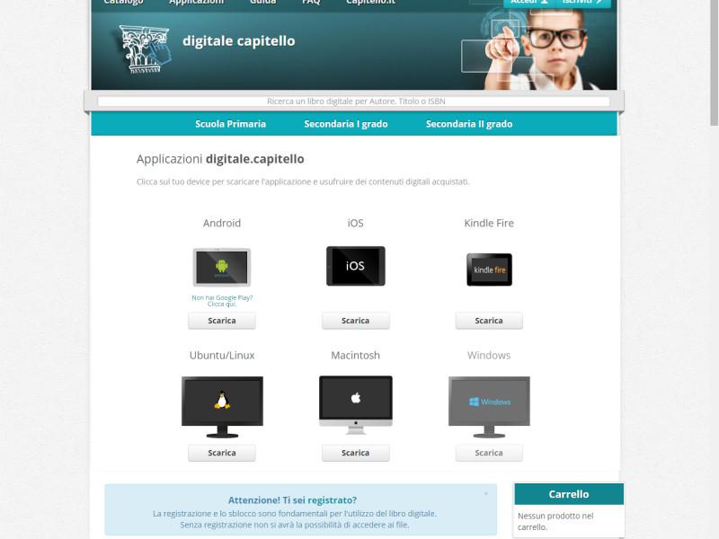 website Capitello Publisher Libre Società Cooperativa