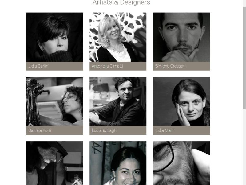 website Piercing Eyes Distilled Art Pieces Contemporary Applied Arts Libre Società Cooperativa
