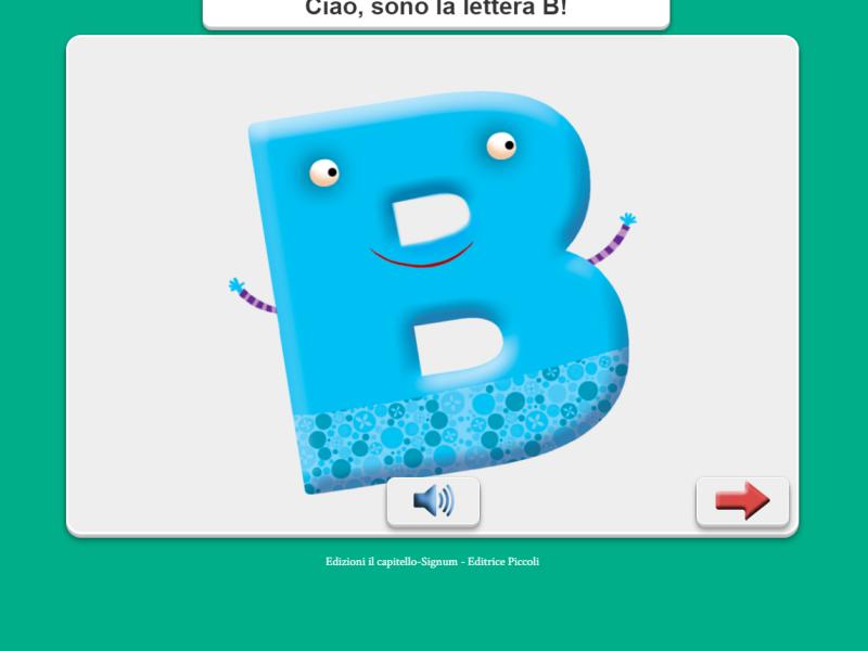 alfabetiere animazione digitale scuola primaria elementare Libre Società Cooperativa