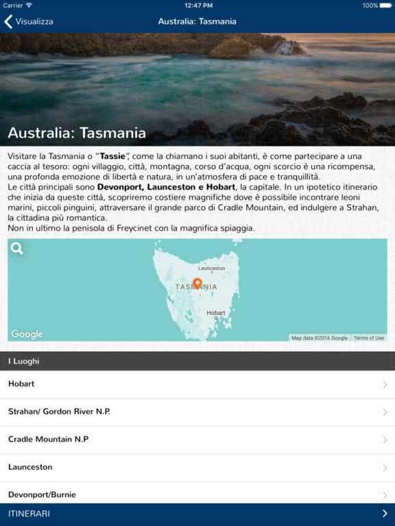 app iOs Android GoAustralia turismo realtà aumentata Libre Società Cooperativa