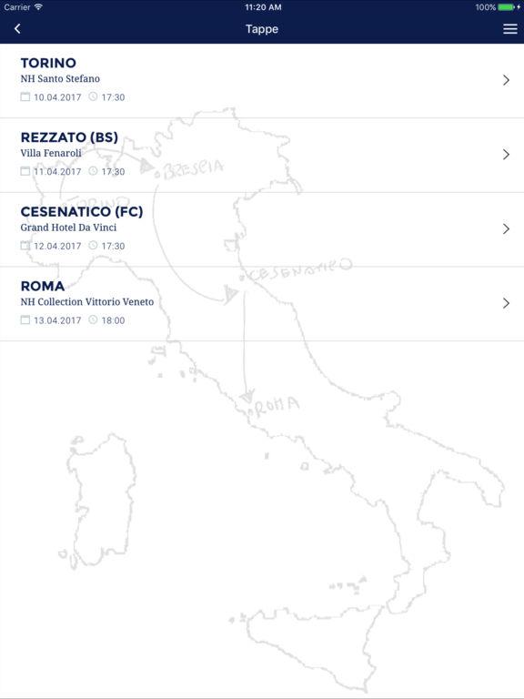 app iOs Android Turism Libre Società Cooperativa