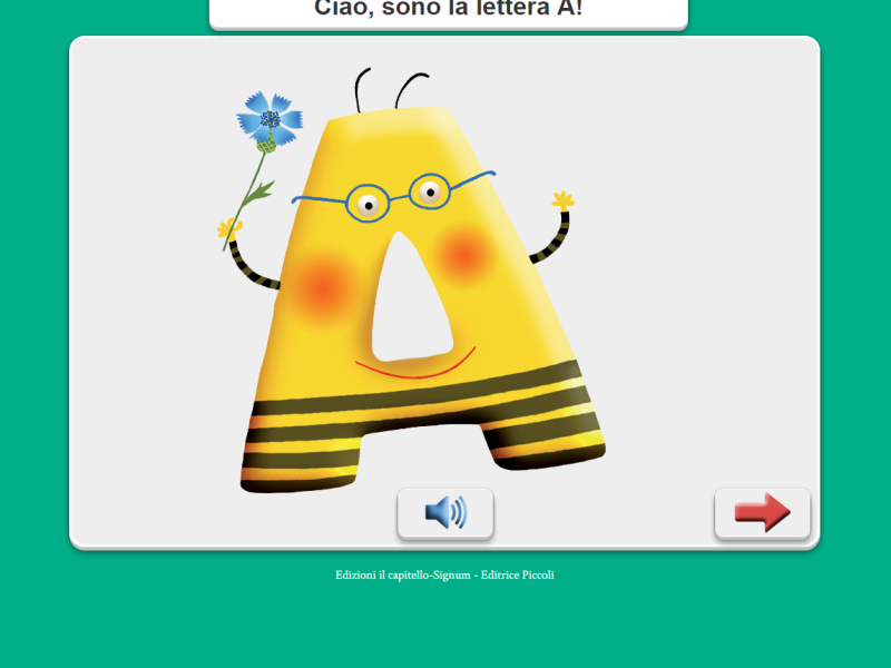 javascript Digital Animation Alfabetiere Spelling Book School Libre Società Cooperativa