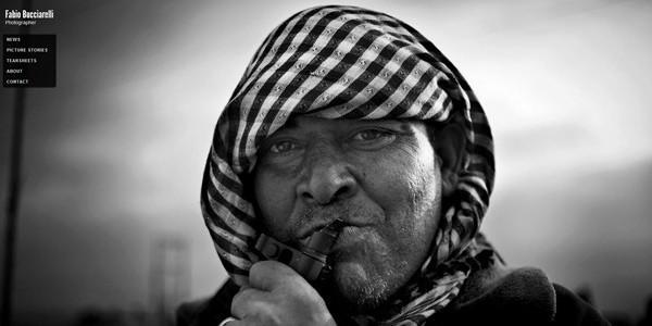 sito web Fabio Bucciarelli fotografo giornalista conflitti guerre Libre Società Cooperativa